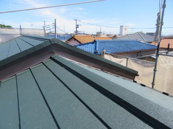 大屋根葺き替え工事